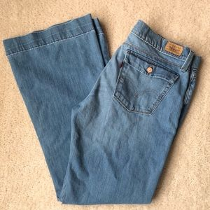 Levi's 544 Ultimate Lift Flare Jeans Sz 14